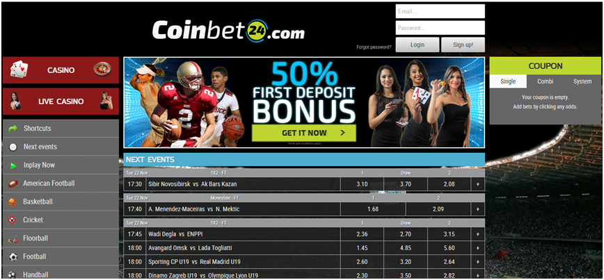 Review of Coinbet24