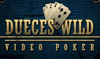How to play deuces wild video poker?
